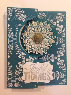 Stampin' Up! Festive Flurry - Circle Thinlits Die