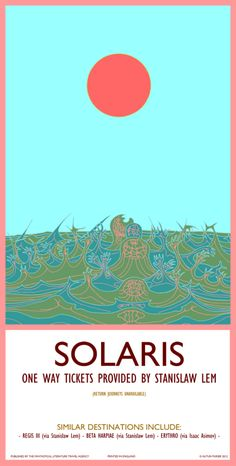 Travel posters advertise literature's most fantastical vacation spots