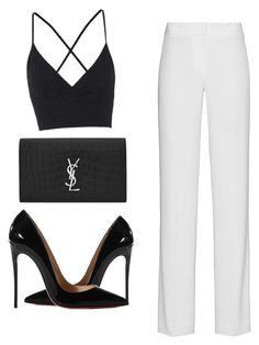 DKNY, Topshop, Christian Louboutin and Yves Saint Laurent Classy Outfits, Chic Outfits, Trendy Outfits, Summer Outfits, Fashion Outfits, Womens Fashion, Fashion Trends, Winter Outfits, Mein Style