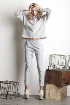 Dace-pear-button-up//