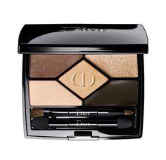 Beauté : Palette de maquillage fards à paupières 5 Couleurs Designer de Dior http://www.vogue.fr/beaute/buzz-du-jour/diaporama/le-regard-backstage-selon-dior/20814#diorshow-mascara-de-dior