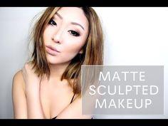 MATTE SCULPTED MAKEUP - YouTube