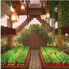 Minecraft Bauwerke, Construction Minecraft, Casa Medieval Minecraft, Images Minecraft, Minecraft Mansion, Easy Minecraft Houses, Minecraft House Tutorials, Minecraft House Designs, Minecraft Survival