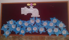 30 World Water Day Crafts Social Projects, Projects For Kids, Art Projects, Diy And Crafts, Crafts For Kids, Eco Kids, World Water Day, Montessori Activities, Water Conservation