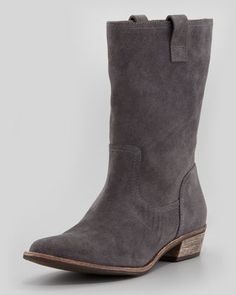 Pueblo+Suede+Pull-On+Bootie+by+Splendid+at+Neiman+Marcus.