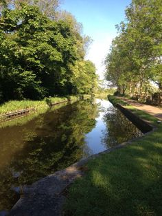 The canals of Worksop.
