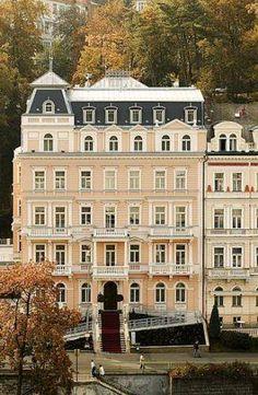 Beautiful Karlovy Vary http://www.travelandtransitions.com/european-travel/