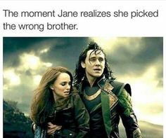 I would've picked Loki immediately.