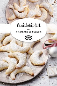 Vanillekipferl Vanilla biscuits: a popular pastry for Christmas cookies Christmas Main Dishes, Thanksgiving Side Dishes, Thanksgiving Desserts, Christmas Desserts, Thanksgiving 2020, Thanksgiving Outfit, Thanksgiving Crafts, Christmas Baking, Dessert Simple
