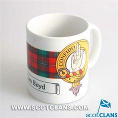 Boyd Clan Crest Mug