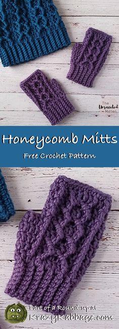 Ideas crochet mittens fingerless free pattern for 2019 Crochet Mittens Free Pattern, Crochet Stitches Patterns, Knitting Patterns Free, Crochet Baby, Free Crochet, Crochet Beanie, Crochet Bikini, Crochet Hand Warmers, Fingerless Mitts
