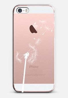 Dandelion iPhone SE case by Ink of Me | Casetify