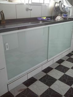 Kitchen Interior, Modern Wood Desk, Home Decor Styles, Kitchen Design Small, Dining Room Design, Kitchen Decor, Laundry Room Design, Aluminum Kitchen Cabinets, Kitchen Design