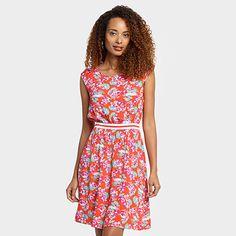 Compre Vestido Mercatto Flores Rosa e Laranja na Zattini a nova loja de moda online da Netshoes. Encontre Sapatos, Sandálias, Bolsas e Acessórios. Clique e Confira!