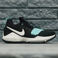 more photos cfe68 e385c 878628-002 Nike PG 1 EP Black Light Aqua   KicksCrew   Shop and Buy it Now!!