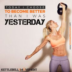 What do you choose?  Ready to take your Kettlebell workouts to the next level?  Start your FREE trial with the Kettlebell Gym for daily workouts and over 200 video workouts to choose from!  Sign up here: https://www.kettlebellmovement.com/sign-up/  #kettlebellmovement