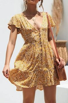 Women Casual Dress Formal Dresses & Gowns Empire Waist Dress - Women Casual Dress Formal Dresses & Gowns Empire Waist Dress – rotatal Source by - Mode Outfits, Fashion Outfits, Fashion Hacks, Fashion Trends, Fashion Clothes, Fashion Tips, Mode Hippie, Hippie Style, Short Summer Dresses