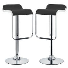 LEM Adjustable Height Swivel Bar Stool