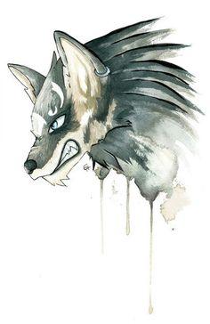 Wolf Link Legend of Zelda