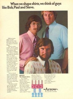 When we shape shirts, we think of guys like Bob, Paul and Steve.