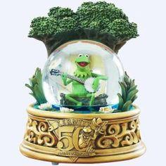 Kermit snow globe