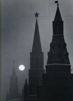 Carl Mydans The Kremlin and Spassky Tower, Moscow 1950's