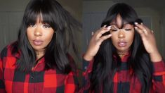 Bangin Ass Wig ft. Chinahairmall Indian Remy Full Bang Wig - YouTube