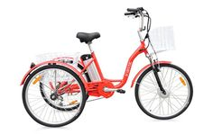 Buy Adult Tricycle Unique Trike Adult child rider NEW Bicycle 6 speed (non electric) at online store Adult Tricycle, R Pod, Electric Tricycle, New Bicycle, Trade Association, All Terrain Tyres, Six Speed, England And Scotland, Good Customer Service