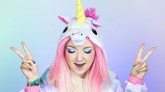 JEDNOROŻEC na HALLOWEEN 🦄 Unicorn 🦄 Red Lipstick Monster 🦄