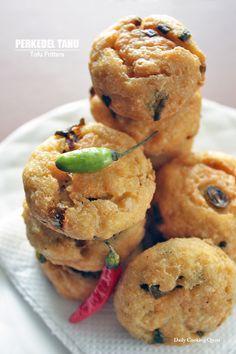 Perkedel Tahu - Tofu Fritters