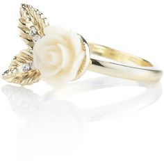 Accessorize Bella Carved Flower and Leaf Ring (€1,79) ❤ liked on Polyvore featuring jewelry, rings, accessories, bagues, aneis, cream, carved ring, accessorize jewelry, leaves jewelry and leaf jewelry