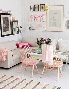 Ideas para decorar en tonos pastel