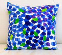 """20x20"""" Marimekko Pillow Cover. Handmade. (50x50cm) by PantsandPillows"""