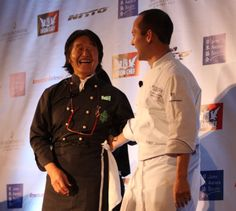 """Local celebrities and more than 220 members and supporters of the Japan America Society of Southern California (JASSC) enjoyed a rare dinner experience Saturday night at its Iron Chef Sakai LIVE event, featuring a multi-course gourmet meal prepared by Japan's most famous chef, Hiroyuki Sakai , better known as """"Iron Chef Sakai""""."""