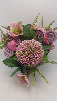 Trauergesteck Floral Wreath, Wreaths, Plants, Home Decor, Floral Crown, Decoration Home, Door Wreaths, Room Decor, Deco Mesh Wreaths