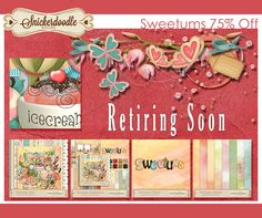 Retiring Products from Snickerdoodle Designs #thestudio #digitalscrapbooking