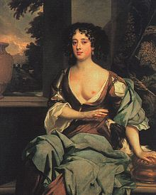 Margaret Hughes ~ Sir Peter Lely ~ Mistress of Prince Rupert of the Rhine. Restoration actress in both the Kings and Duke's companies. Potrait Painting, Stage Beauty, England, Portraits, 17th Century, Mistress, The Past, History, Women
