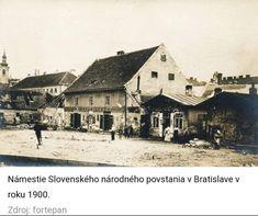 Bratislava, Old Street, Old Photos, Squares, Westerns, Nostalgia, Times, House Styles, Inspiration