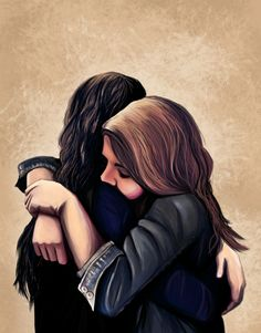 Carmilla and Laura Best Friend Drawings, Girly Drawings, Easy Drawings, Lesbian Art, Lesbian Love, Girl Cartoon, Cartoon Art, Carmilla And Laura, Carmilla Series