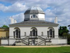 Chiswick House - This was the original main entrance where Lord Burlington's guests ascended the grand staircase.
