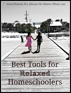 The best tools for relaxed homeschoolers. Simple, and mostly inexpensive ways to homeschool your family and do it well!