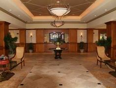 Main entrance to the Club House - Gleneagles Country Club (Delray Beach, Florida)