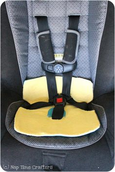 Carseat piddle pad tutorial