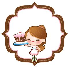 This PNG image was uploaded on January am by user: pokepoker and is about Art, Bolo, Brand, Business, Cake. Logo Doce, Pastry Logo, Baking Logo, Bakery Business Cards, Cake Logo Design, Pop Art, Aurora Sleeping Beauty, Kawaii, Cartoons