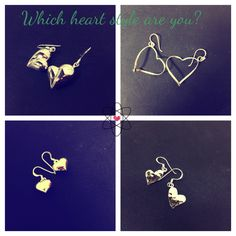 Hearts earrings #heart #valentine's #earrings #silver