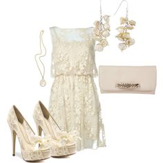"""Lace Darling"" by ohmeejean on Polyvore"