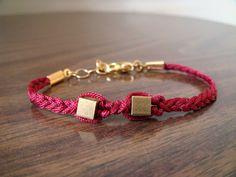 Luck No.11 Bracelet. by danggoods, via Etsy.