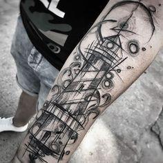 🖤check out my new studio @inne_tattoo🖤 #wowtattoo #blacktattoomag #blacktattooart #inkstinctsubmission #equilattera #black #btattooing… Mini Tattoos, Love Tattoos, Black Tattoos, Body Art Tattoos, New Tattoos, Tattoos For Guys, Forarm Tattoos, Cool Forearm Tattoos, Sketch Style Tattoos