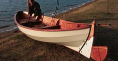 Launching a Skerry rowing boat