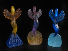 Lost Wax Casting with Mark Abilgaard Lost Wax Casting, Glass Art, Wings, It Cast, Artist, Decor, Decoration, Artists, Feathers